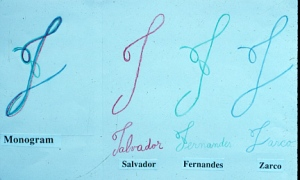 Monogram-Silvia
