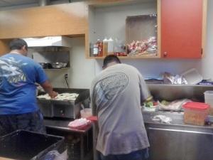 El chef mexicano Leonardo Alcalán, en su Taquería del Hialeah Park