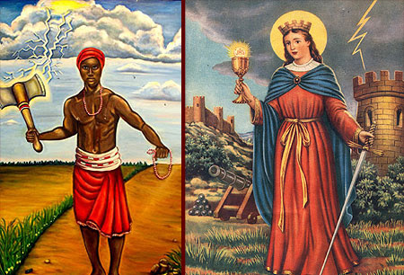 Shango Y Santa Barbara Linaje De Nuestra Bendicion Josancaballero S News