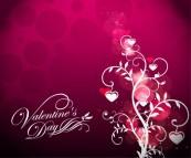 san-valentin-y-dia-s-de-flores-sobre-fondo-rojo_53-9691