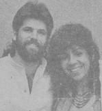 María Eugenia García Gonce, con su pareja sentimental, el también dramaturgo y director artístico de la tercera etapa de TEATROVA DE CUBA, José Antonio Gutiérrez Caballero, con quien realizó múltiples puestas en escena, desde 1989.