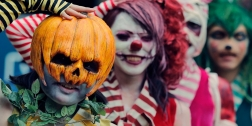A group of costumed participants march during a Halloween event in Kawasaki, near Tokyo, Sunday, Oct. 28, 2012. (AP Photo/Itsuo Inouye)